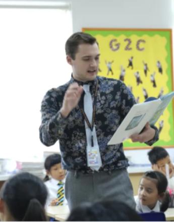 对话老师:走进惠立小学部的英语课堂